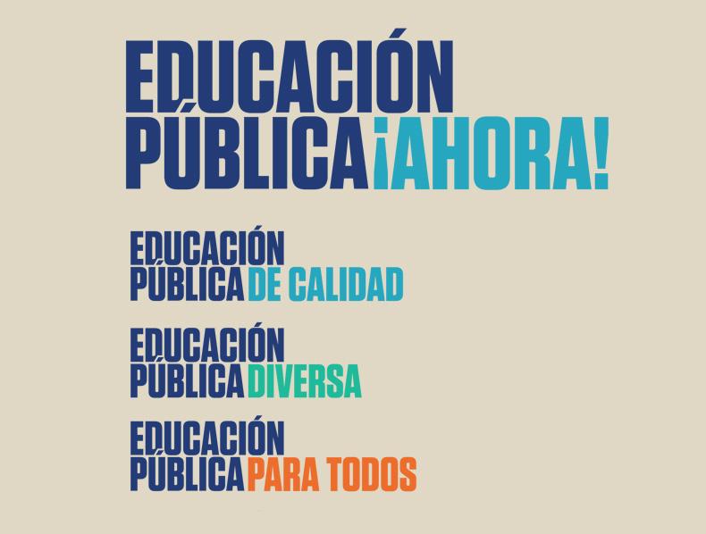 Educación Pública Ahora